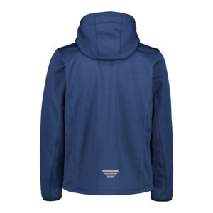 Giacca uomo in softshell jacquard CMP DIETRO