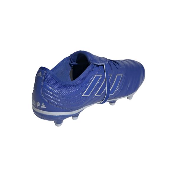 scarpa da calcio l'avampiede in morbida pelle linguetta ripiegabile che copre i lacci Tallone in schiuma e suola leggera in TPU Scarpe da calcio per superfici compatte