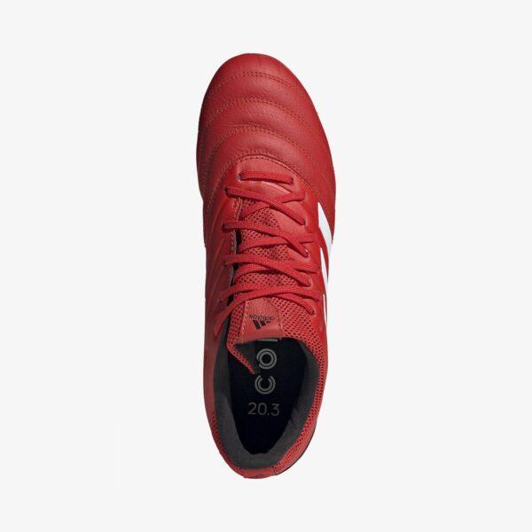 scarpa da calcio tomaia in morbida pelle pannello elasticizzato in Primemesh Calzata regolare, Chiusura con lacci Suola multiground adatta per terreni duri o sintetici.