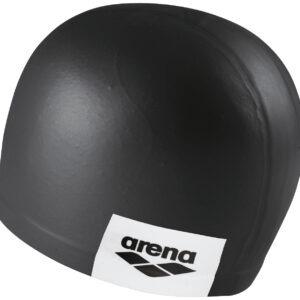 cuffia silicone arena nera con logo laterale