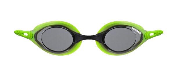 occhialini nuoto arena cobra lime lenti smoke