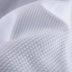 KIMONO DA JUDO di Effea Sport bianco tessuto resistente agli strappi.
