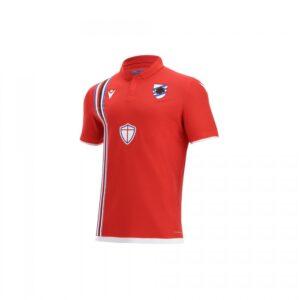 terza maglia Sampdoria 2021/22 ROSSO