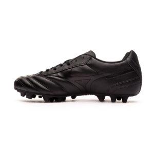 scarpe da calcio Mizuno morbida ecopelle tallone interno modellato 24 tacchetti in gomma per campi sintetici PESO (G): 230