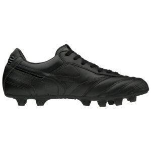 scarpa da calcio Mizuno tomaia in pelle di canguro e soletta in Eva leggera tacchetti strategicamente posizionati per migliorare la trazione e la distribuzione del peso