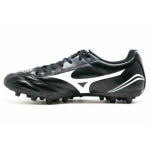 scarpe da calcio Mizuno tomaia sintetica leggera (solo 220 g.) per campi sintetici rinforzi in punta e sui lati per limitarne l'abrasione