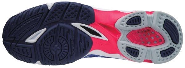 Scarpa da pallavolo da UOMO ALTA VOLTAGE Di Mizuno colore… leggera e veloce.