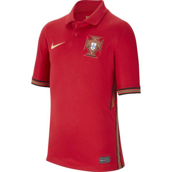 Maglia ufficiale da gioco bambino e ragazzo Nazionale Portogallo Stadium – Home Euro 2020