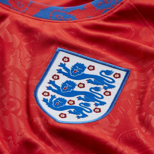 Maglia ufficiale da gioco Nazionale Inghilterra Euro 2020