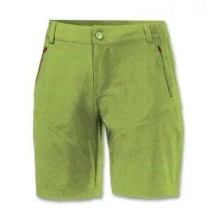 Pantaloni uomo corti realizzati in tessuto micro ripstop elasticizzato Cintura con apertura tramite zip e bottone
