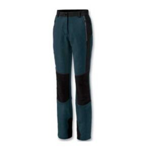 Pantaloni tecnici da donna in tessuto ripstop elasticizzato e traspirante