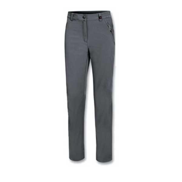 Pantaloni realizzati in tessuto elasticizzato, traspirante, che favorisce l'espulsione dell'umidità verso l'esterno