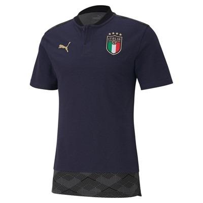 Polo uomo ufficiale Nazionale Italiana Euro 2021