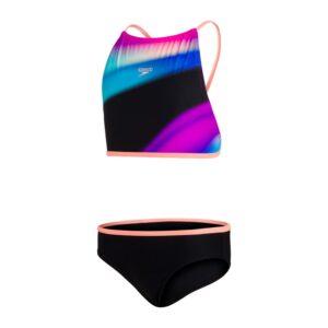 bikini da bambina e ragazza di Speedo tessuto Speedo Eco EnduraFlex, morbido ed elastico realizzato con filati riciclati
