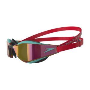 occhialino di Speedo Hyper Elite Ricco di tecnologie idrodinamiche Guarnizione per occhiali 3D IQfit ™ Lenti con rivestimento antiappannamento Lenti rivestite a specchio