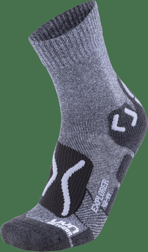 UYN CALZA OUTDOOR UOMO EXPLORER calze da trekking intelligenti. Grazie alla compressione mirata
