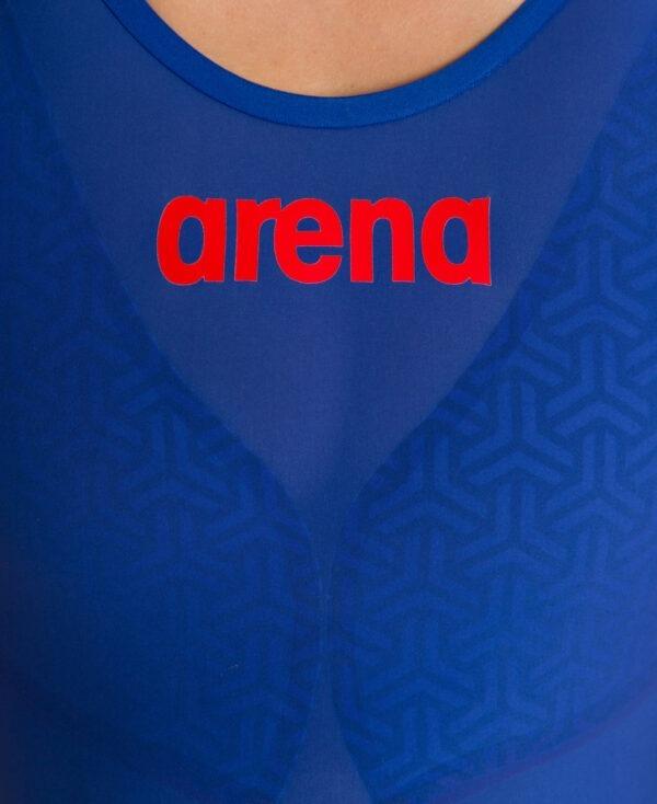 costume competizione donna arena azzurro