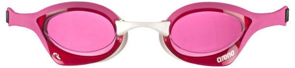 occhialini nuoto arena cobra ultra swipe unisex rosa lente rosa