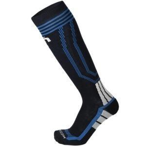 Calza MICO Ski BASIC medium weight in lana + fibra LYCRA® Rinforzi a doppia struttura in lana - Inserti di protezione frontali - Fasce elastiche alla caviglia e nell'arco plantare