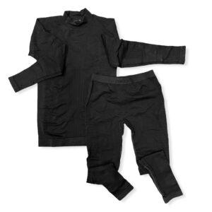Kit MICO maglia lupetto + calzamaglia KIDS Estremamente elasticizzata Aderisce perfettamente al corpo per tutti gli sport