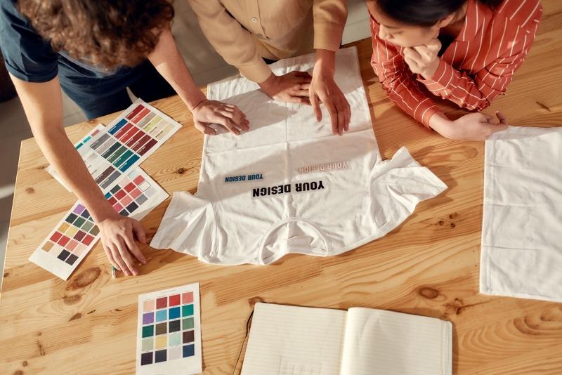 Personalizzazione abbigliamento