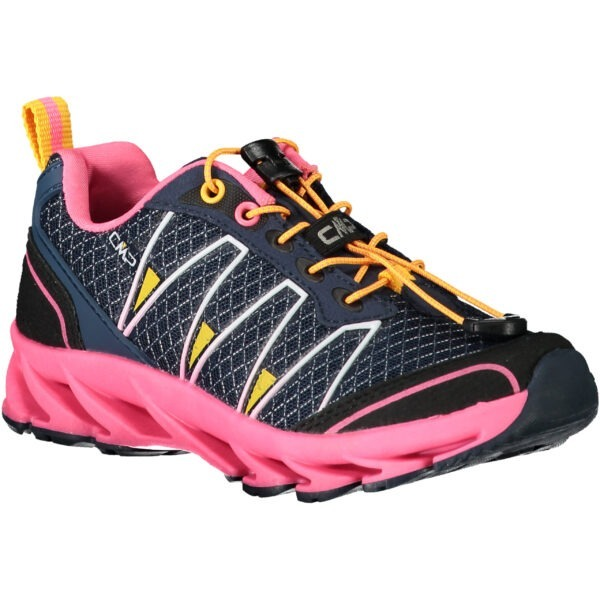 Scarpa da bambino leggera e traspirante adatta sia per la corsa trail che per la scuola.