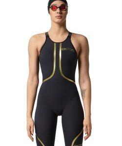 """Costume da gara da donna Venom Woman Open nuovo tessuto """"Tech Suit'' modello con la schiena aperta"""