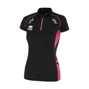 Kimera di Erreà è la t-shirt manica corta ideale per il running Taschino con cerniera sulla manica e sul retro mezza zip con accorgimento per il collo
