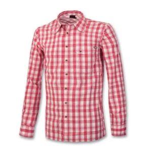 Camicia uomo manica lunga in tessuto fresco e traspirante ha protezione dai raggi uv