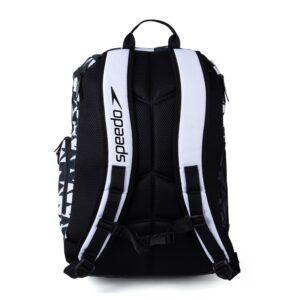 zaino Teamster 2.0 di Speedo, tasche generose, un porta borraccia e custodia per laptop dedicata fondo resistente all'acqua lunghezza: 508 mm x larghezza: 432 mm Capacità 35 litri
