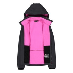 Giacca donna in softshell jacquard CMP INTERNO